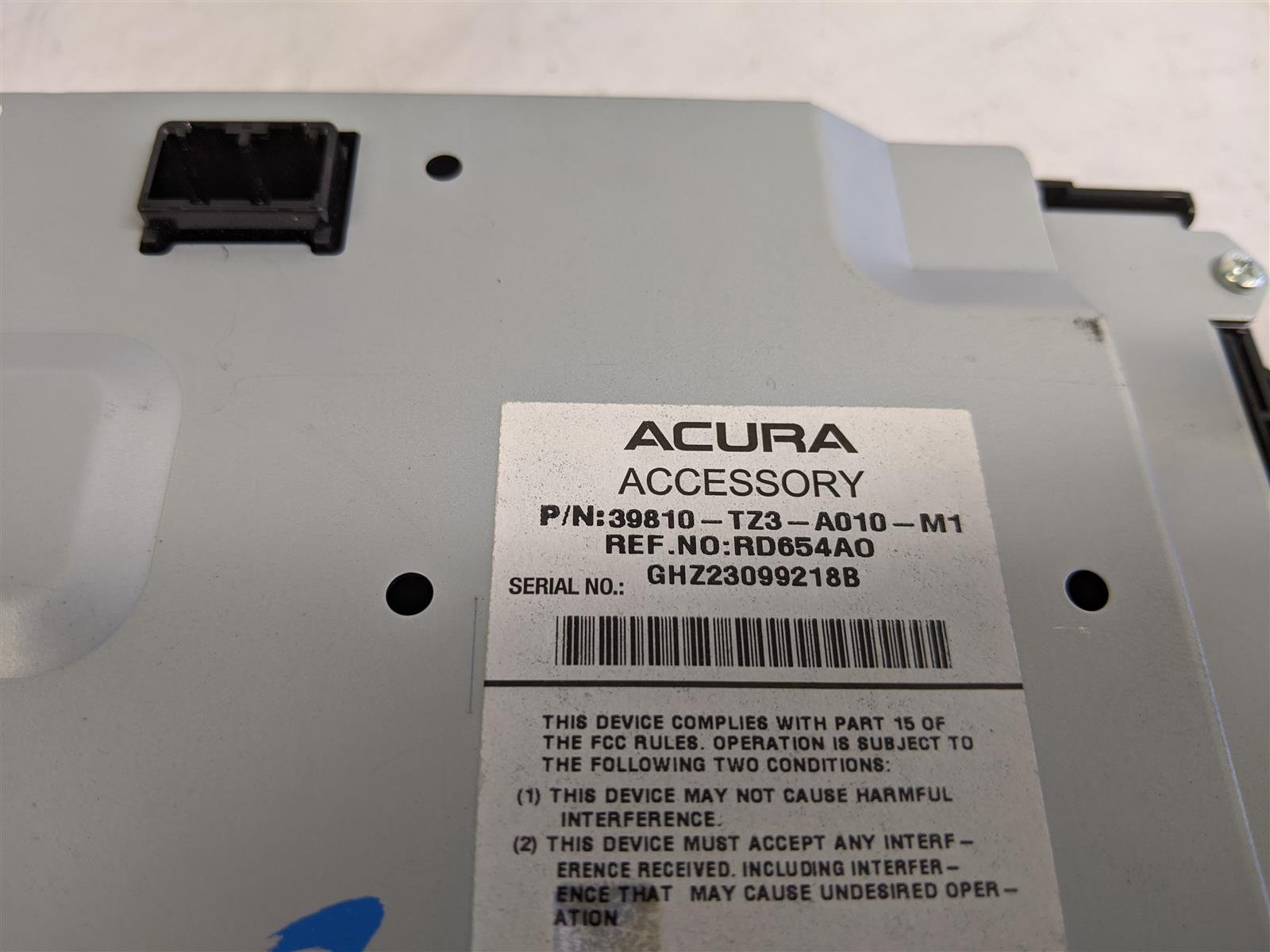 2017 Acura TLX Upper Display Screen Replacement