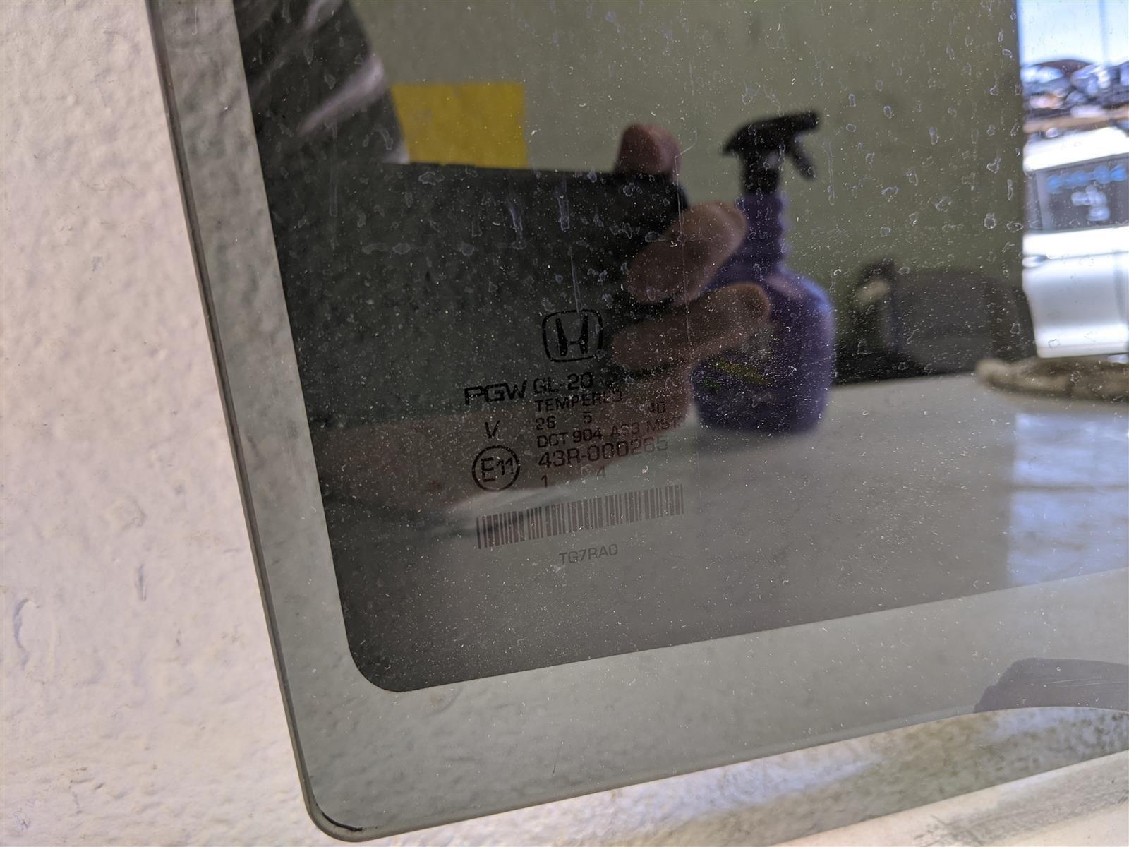 2016 Honda Pilot Rear Passenger Door Glass Window Replacement