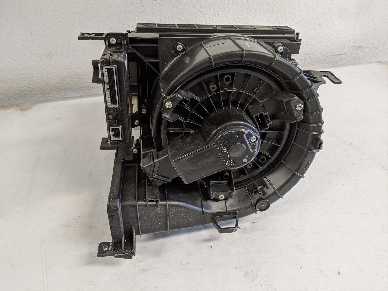 2017 Acura TLX Blower Motor Assembly Replacement