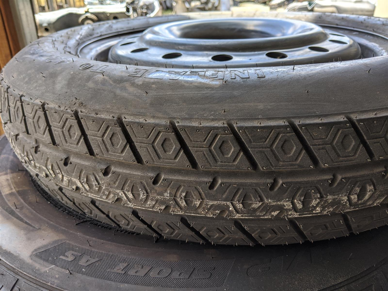 2016 Honda Pilot 17 Inch Spare Rim And Tire Nice Replacement
