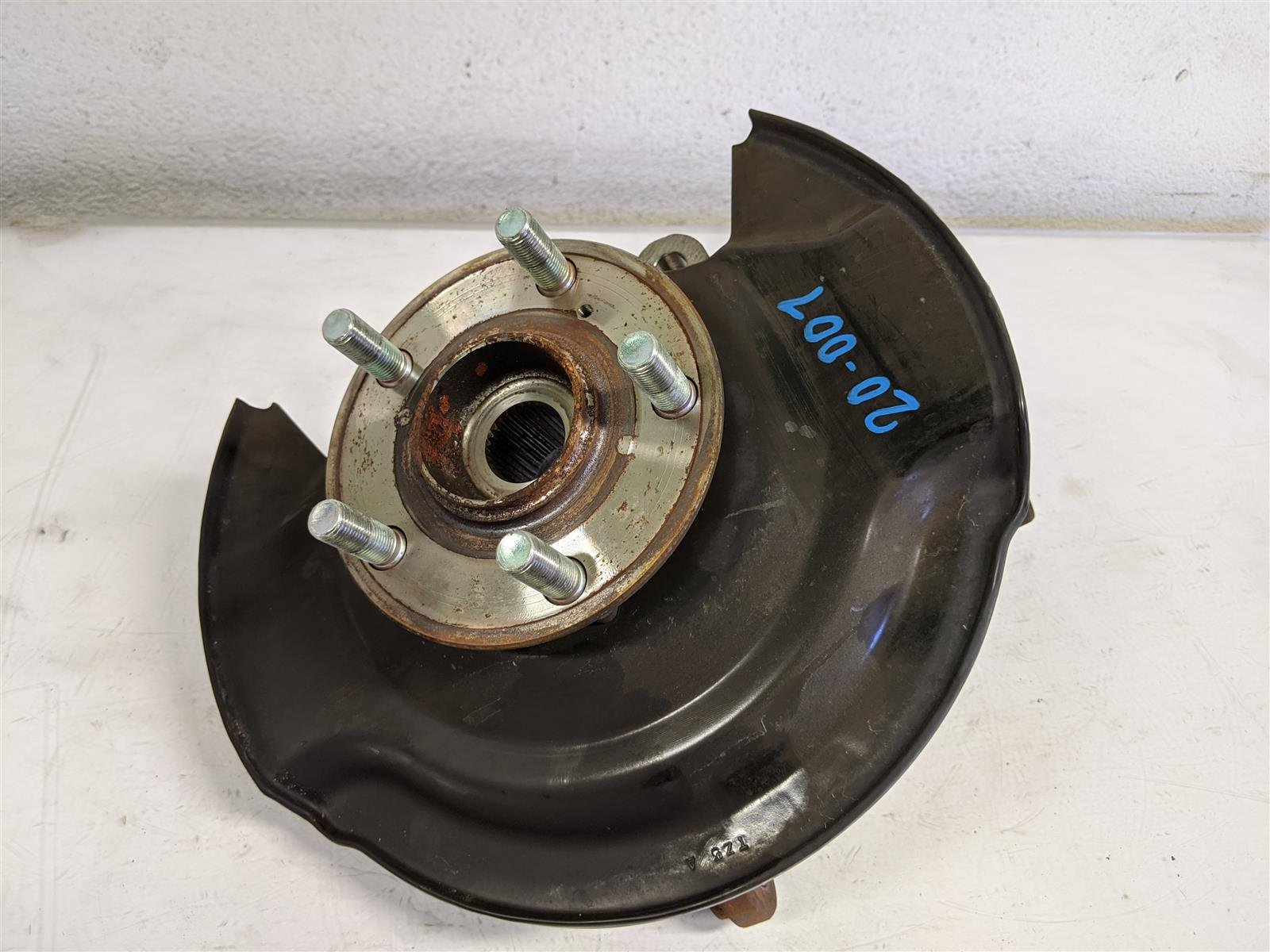2017 Honda Pilot Front Driver Spindle Knuckle Replacement