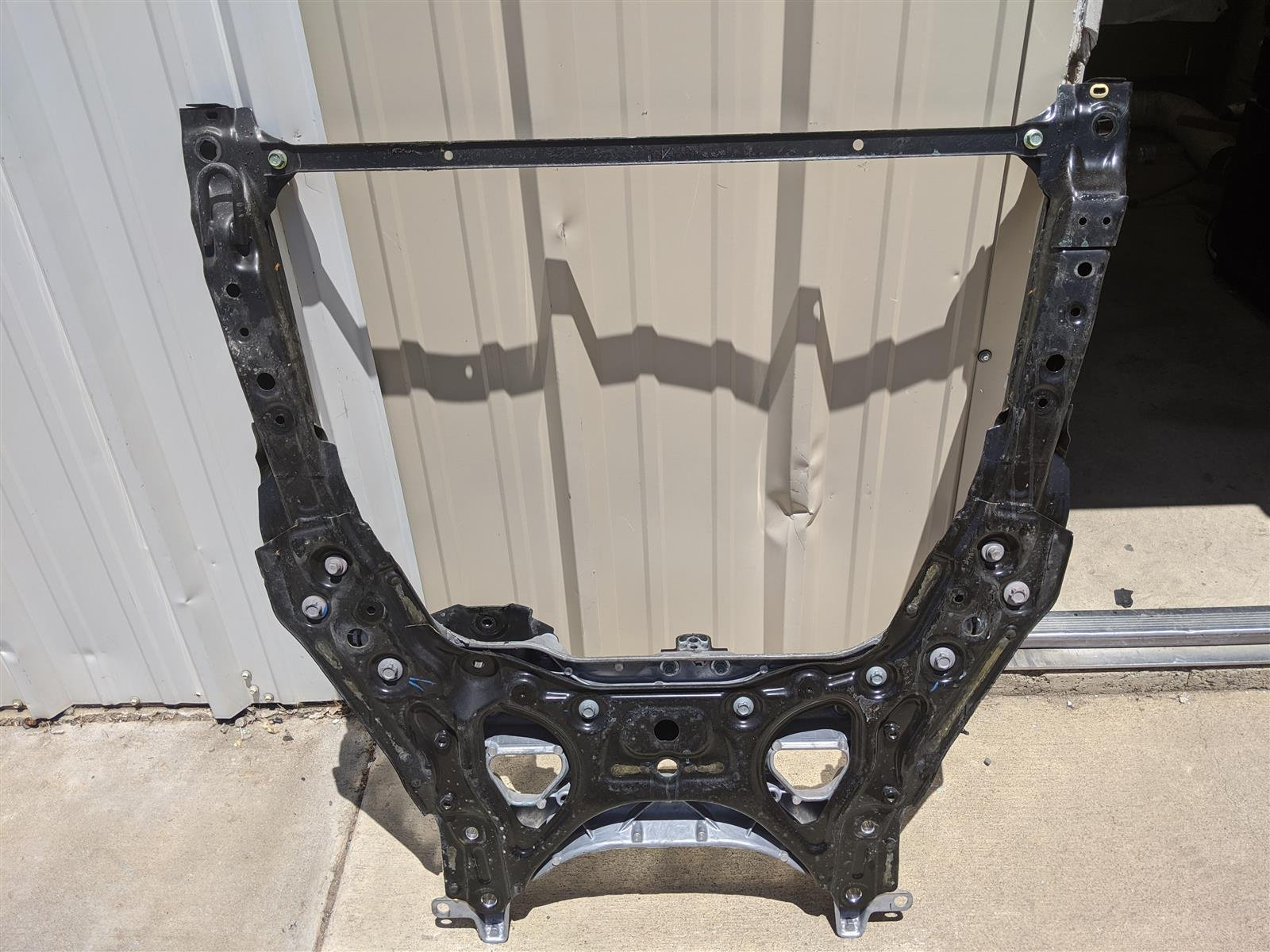2018 Honda Accord Front Subframe Engine Cradle Beam Replacement