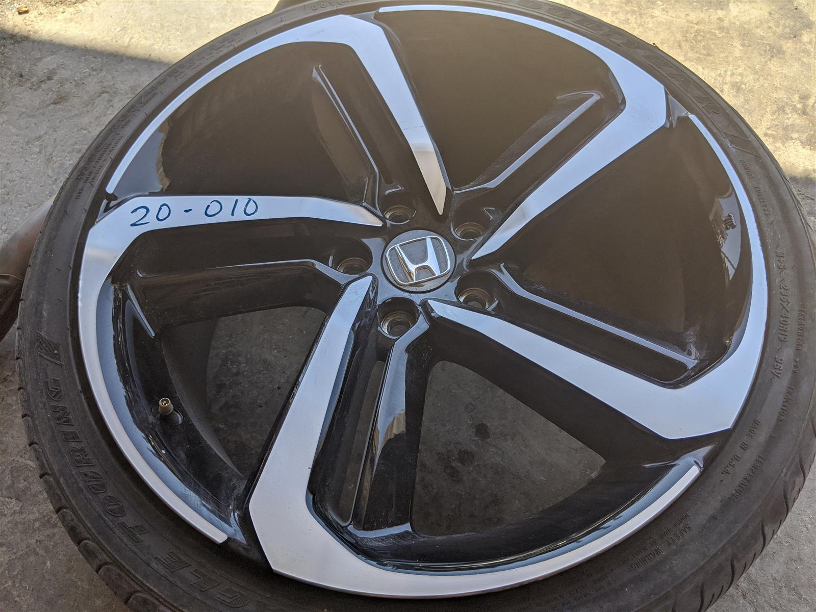 2018 Honda Accord 19 Inch Sport Wheel Rim, Curbed Replacement