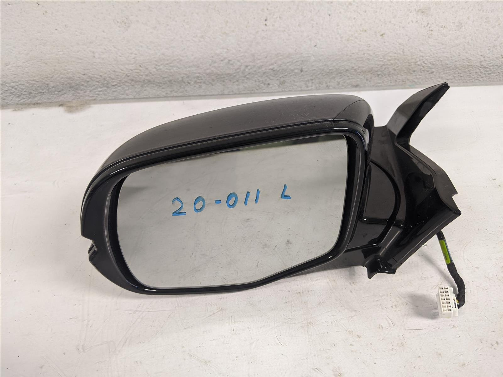 2017 Honda Pilot Elite Driver Side View Mirror Gray Replacement