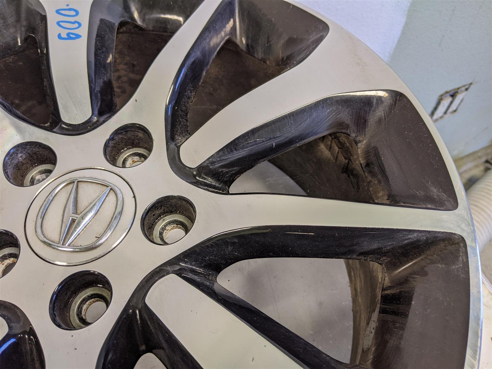 2017 Acura TLX 17 Inch Alloy Rim Used Scratches Replacement
