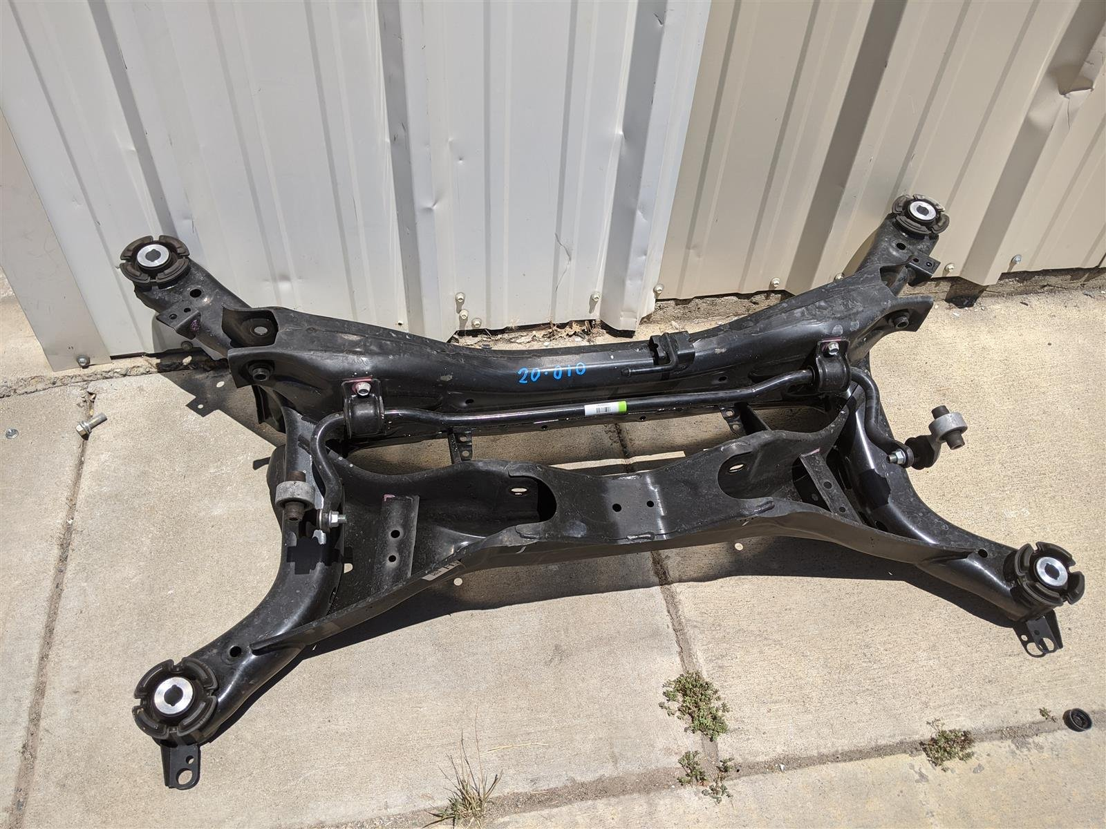 2018 Honda Accord Rear Subframe Beam Replacement