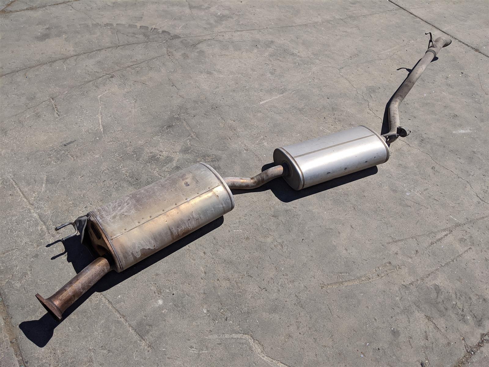2016 Honda Pilot Exhaust Muffler Replacement