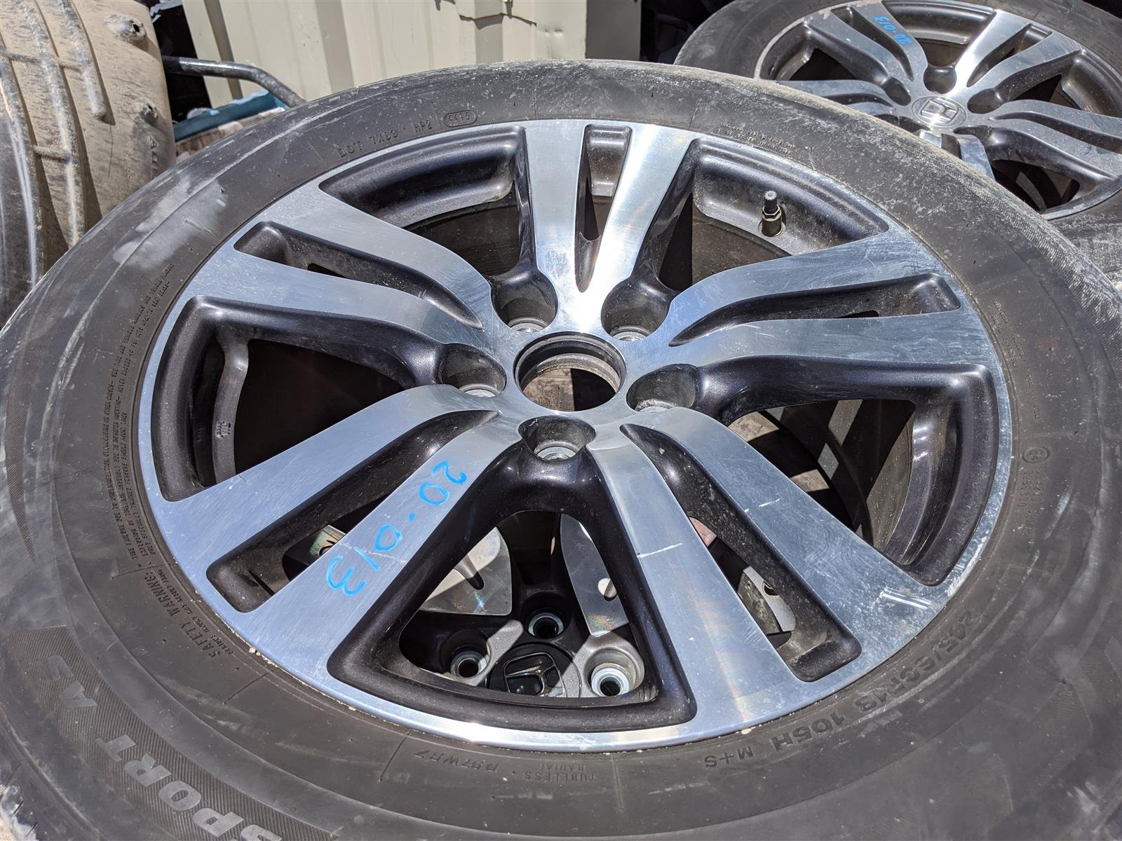 2016 Honda Pilot 18 Inch Alloy Wheel Rim 1 Replacement