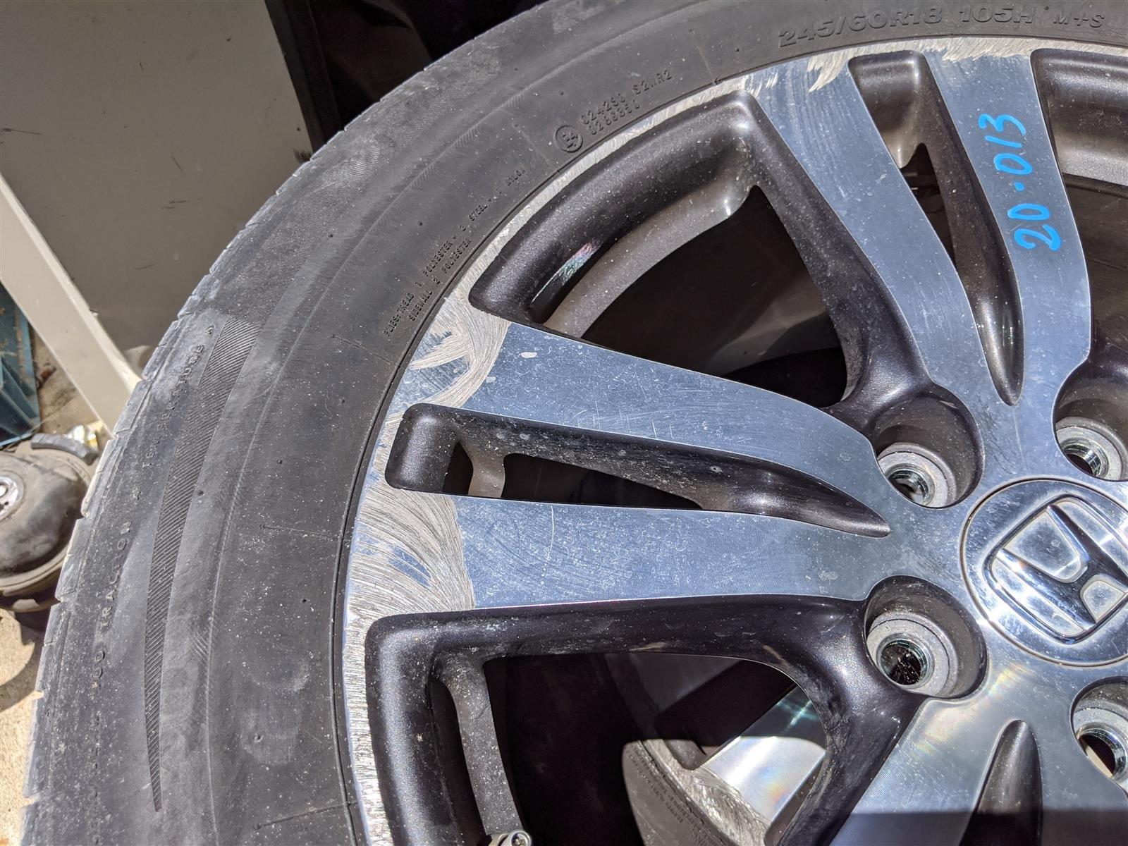 2016 Honda Pilot 18 Inch Alloy Wheel Rim 2 Replacement