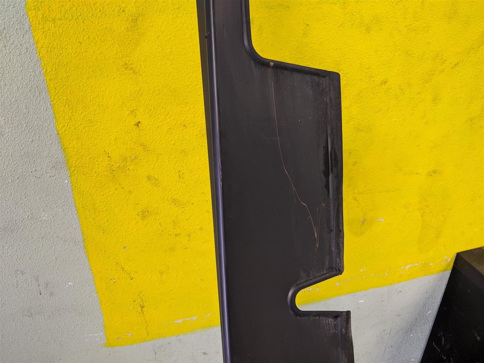 2018 Honda Odyssey Driver Side Skirt Mat Black, Used Replacement