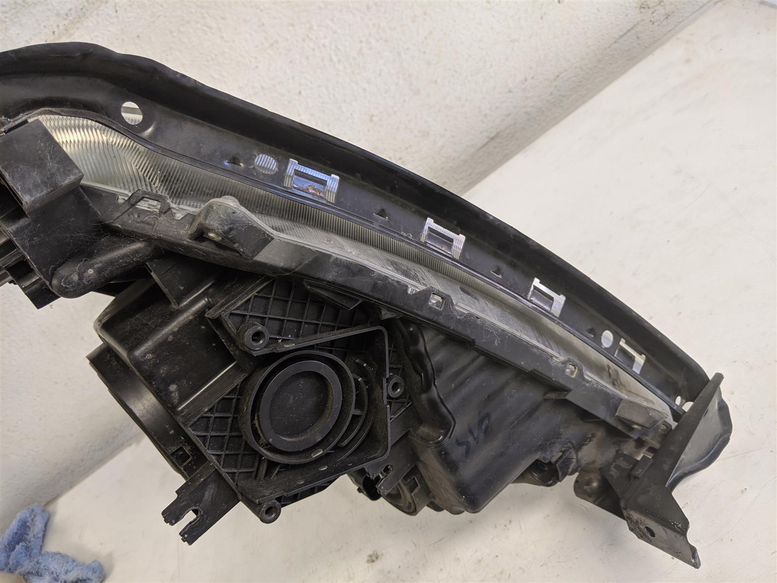 2014 Honda Odyssey Passenger Headlight Lamp Replacement