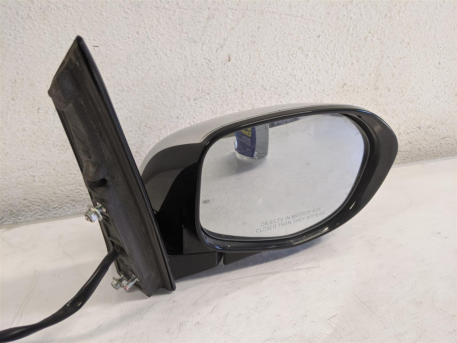 2014 Honda Odyssey Passenger Side View Mirror Silver Replacement