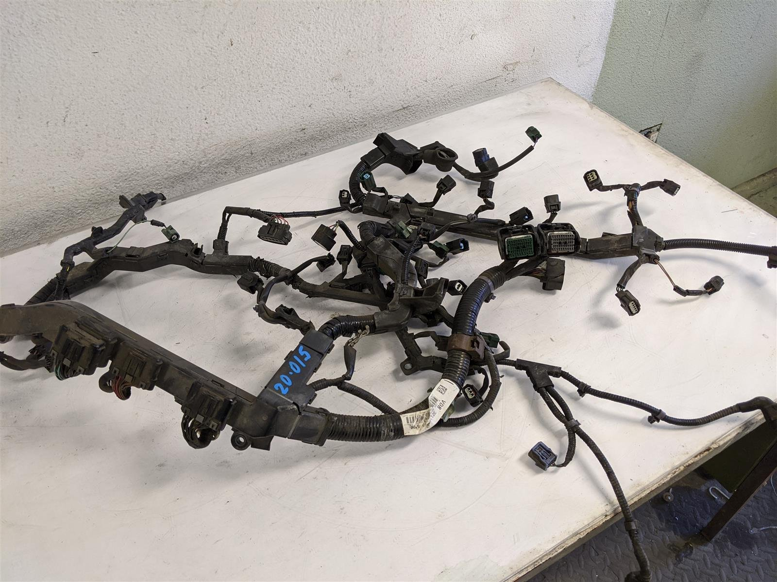 2014 Honda Odyssey Engine Wire Harness Replacement