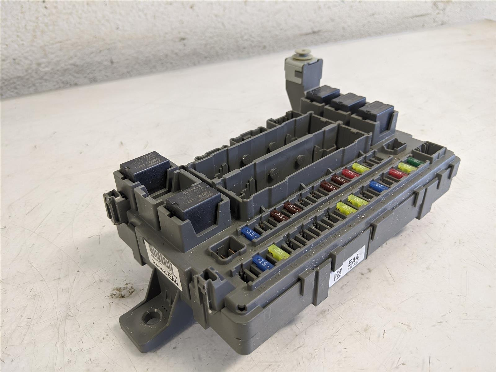 2014 Honda Odyssey Passenger Dash Fuse Box Replacement