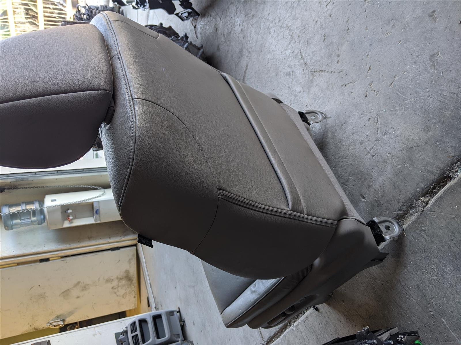 2014 Honda Odyssey Front Driver Seat Light Gray Leather Replacement